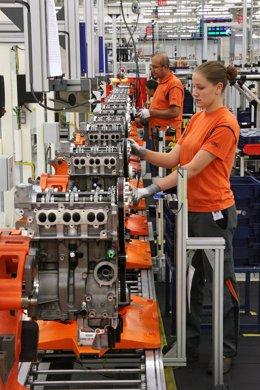 Producción del motor EcoBoost 1.0 en Alemania