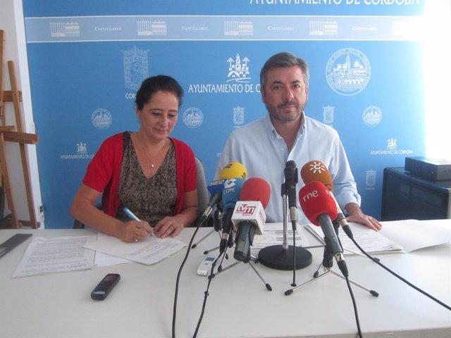 Miguel Ángel Torrico y Ana Tamayo