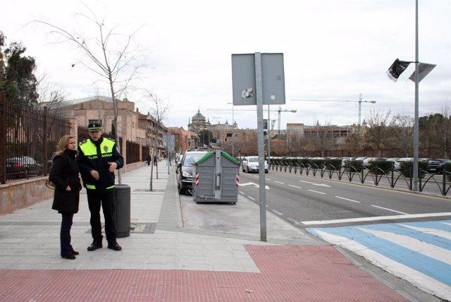 Policía local del Ayuntamiento de Toledo