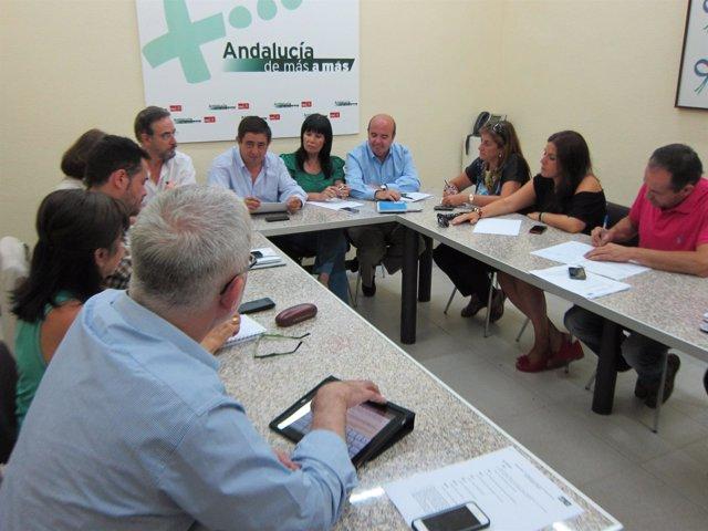 Reunión del Grupo parlamentario Socialista de Jaén, este viernes