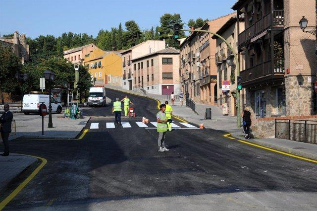 Calle Carrera obras