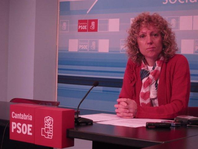 Rosa Eva Díaz Tezanos, líder PSC-PSOE