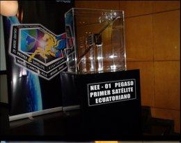 Primer satélite ecuatoriano