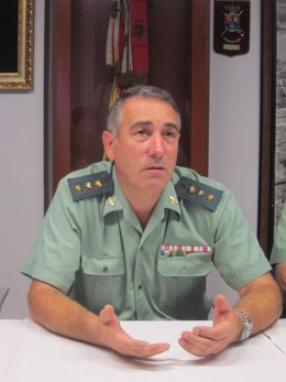 El coronel José Hermida.