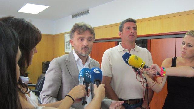 El delegado de la Junta en Huelva, José Fiscal.