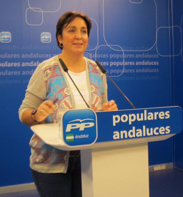 La vicesecretaria del PP-A Ana Corredera