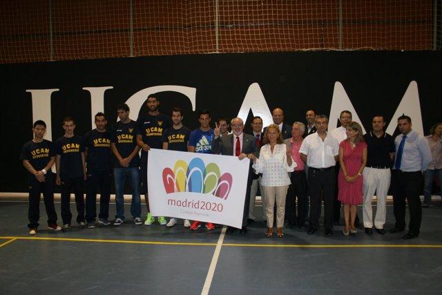 Apoyo de la UCAM  a Madrid 2020