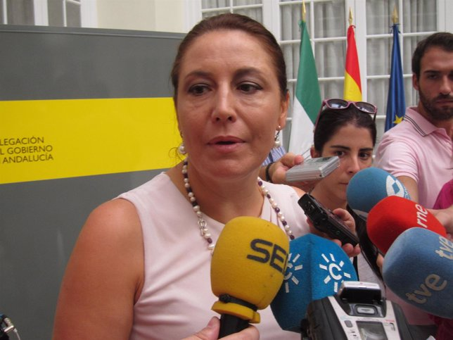 La delegada del Gobierno en Andalucía