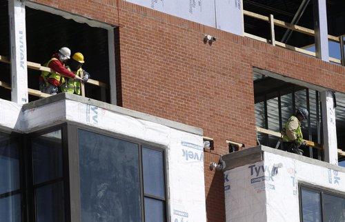 Un sitio de construcción en Silver Spring, EEUU, mar 8 2013
