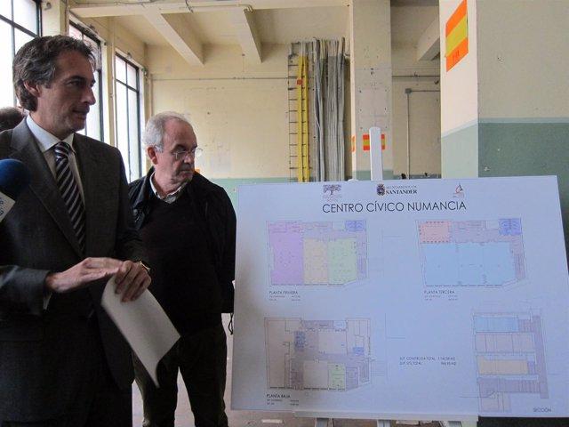 Presentación del proyecto del centro cívico de Numancia