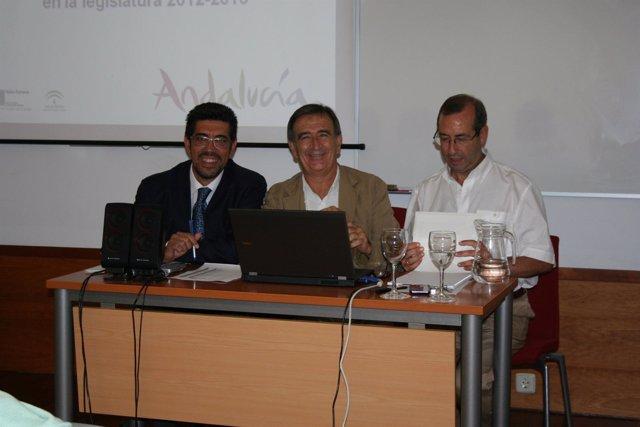 El secretario de Turismo de la Junta, Vicente Granados