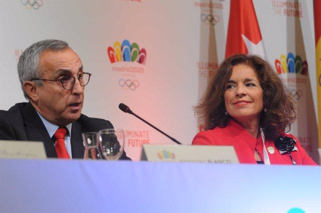 Alejandro Blanco y Ana Botella