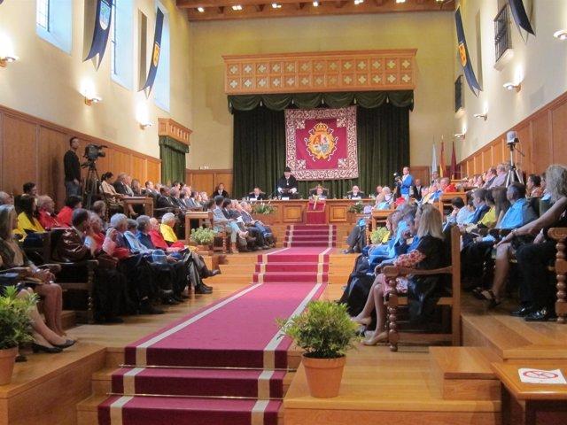 Acto de inauguración del curso académico 13-14 Sistema Universitario de Galicia