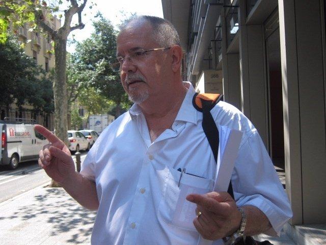El presidente de la plataforma Movimiento Cívico 12-O, Ángel Hernández