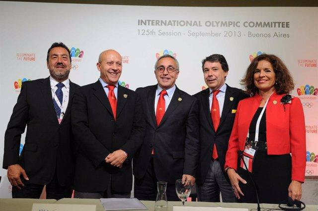 Carballeda, Wert, Blanco, González y Botella