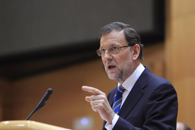 Rajoy en el Pleno sobre Bárcenas