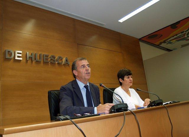 El presidente de la DPH, Antonio Cosculluela