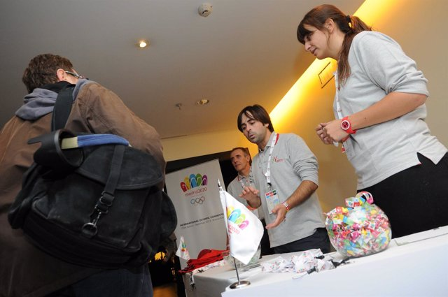 Voluntarios de Madrid 2020
