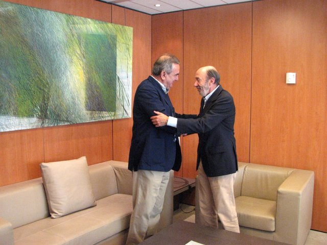 Rafael González Tobar y Alfredo Pérez Rubalcaba