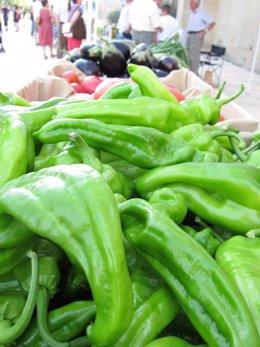 Pimientos, hortalizas