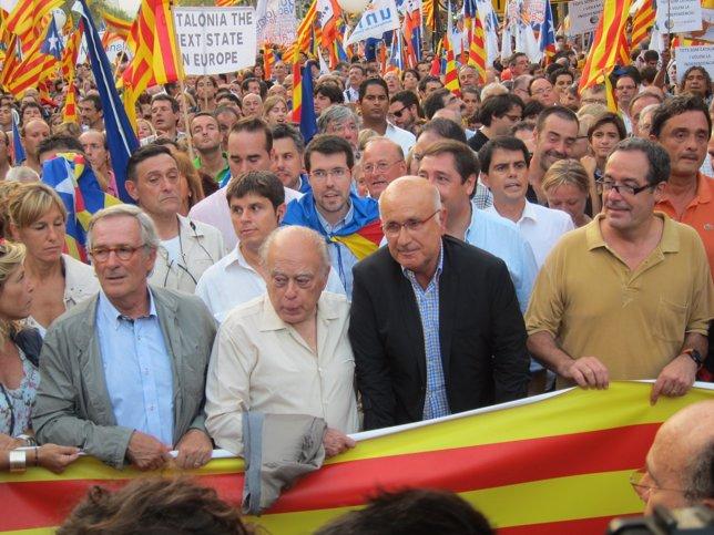 Duran (UDC), En La Manifestación De La Diada