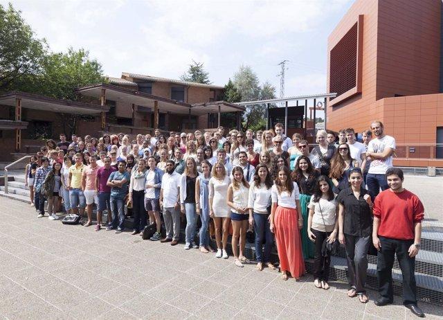 Alumnos de intermabio de la Universidad de Deusto