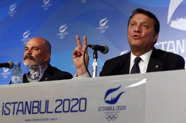 El líder de la candidatura olímpica de Estambul 2020, Hasan Arat