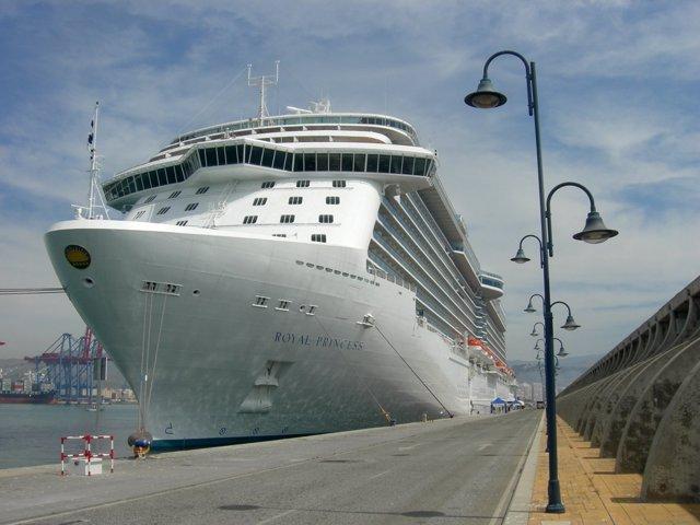 Crucero Royal Princess en Málaga