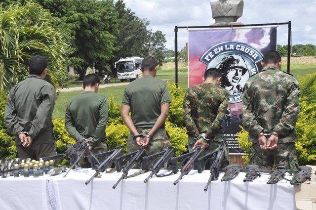 Miembros de las FARC arrestados