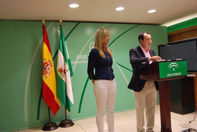 José Luis Ruiz Espejo y Patricia Alba