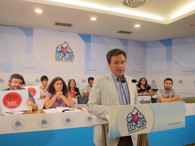 Consello Nacional del BNG, con Xavier Vence