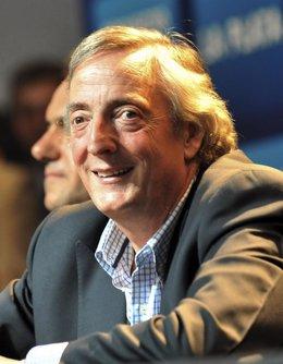 El ex presidente argentino Néstor Kirchner