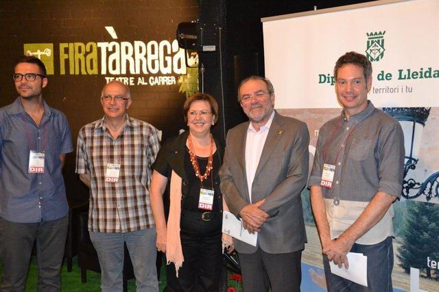 Concejales municipales se acreditan como programadores en Fira de Tàrrega