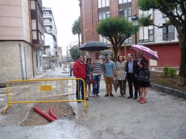 Los socialistas reclaman un aparcamiento en la calle Novalina