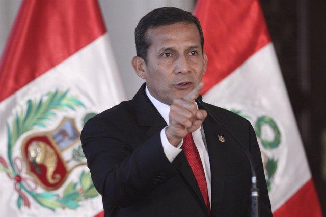 Imagen de archivo del presidente peruano, Ollanta Humala