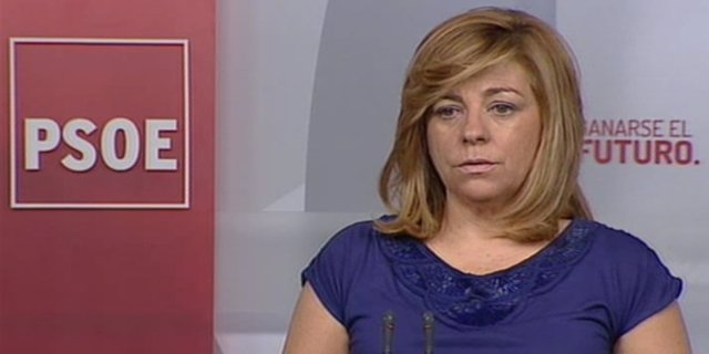 Elena Valenciano en Ferraz, en imagen de archivo.