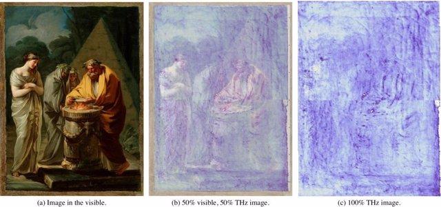 Estudio del cuadro atribuido a Goya 'El sacrificio de Vesta'