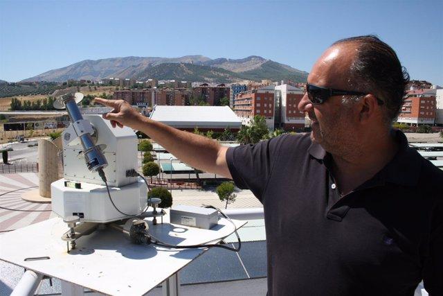 El investigador de la Universidad de Jaén Pedro J. Pérez