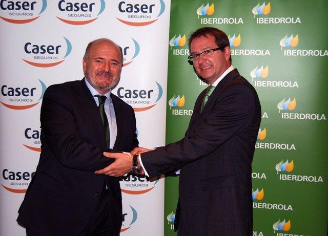 Acuerdo entre Iberdrola y Caser
