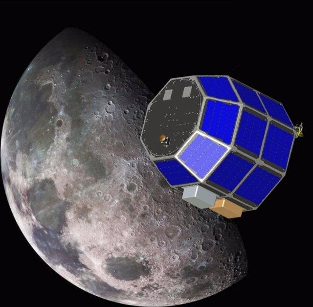 La sonda lunar LADEE