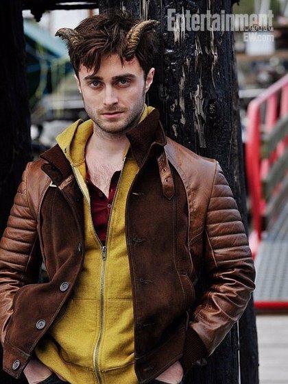 Daniel Radcliffe con cuernos en el primer clip de 'Horns'