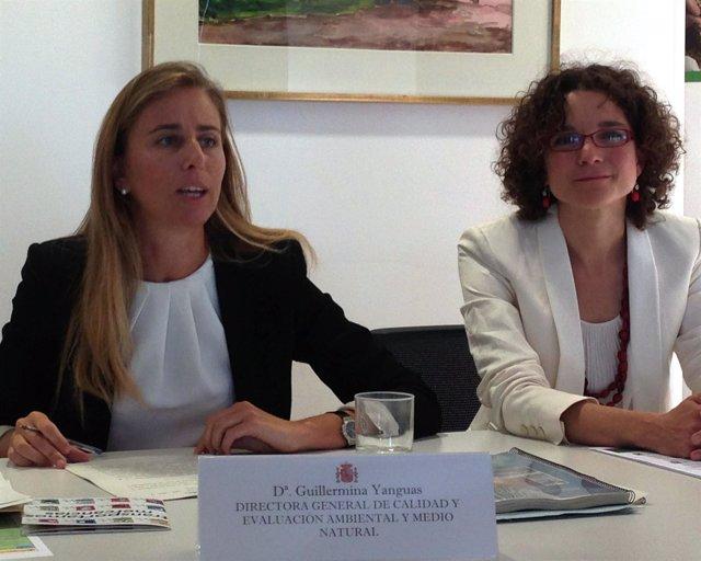 Guillermina Yanguas y Sonia Castañeda