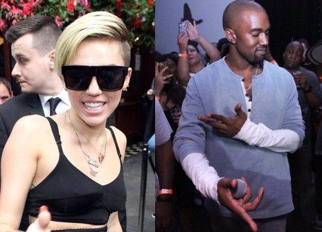 Miley Cyrus hará un dueto con Kanye West