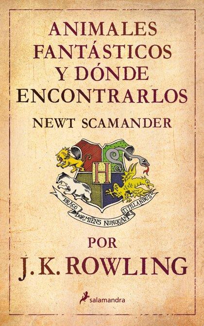 J.K. Rowling prepara varias películas inspiradas en un libro de texto de Hogwarts
