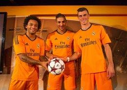 Marcelo, Benzema y Bale