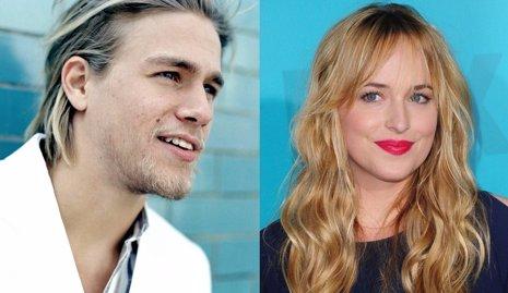 Charlie Hunnam y Dakota Johnson protagonistas de '50 Sombras de Grey'