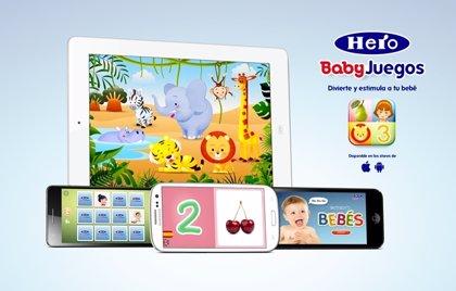Nace Babyjuegos, la app para bebés de Hero Baby