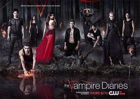 The Vampire Diaries poster quinta temporada