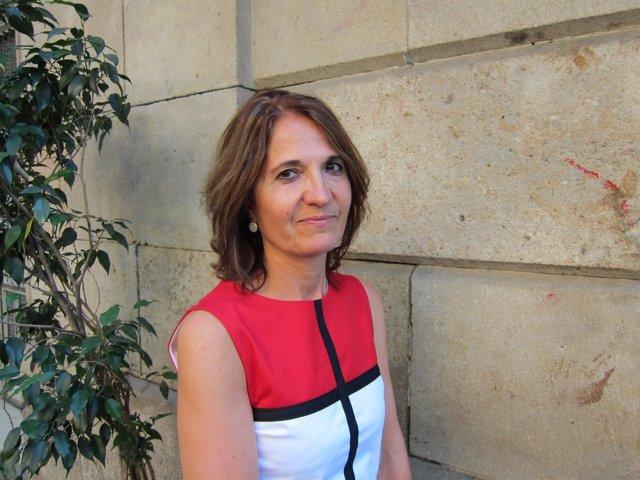 La escritora Núria Perpinyà