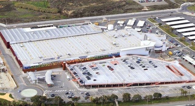 Imagen Del Futuro Centro Comercial Holea De Carrefour En Huelva.